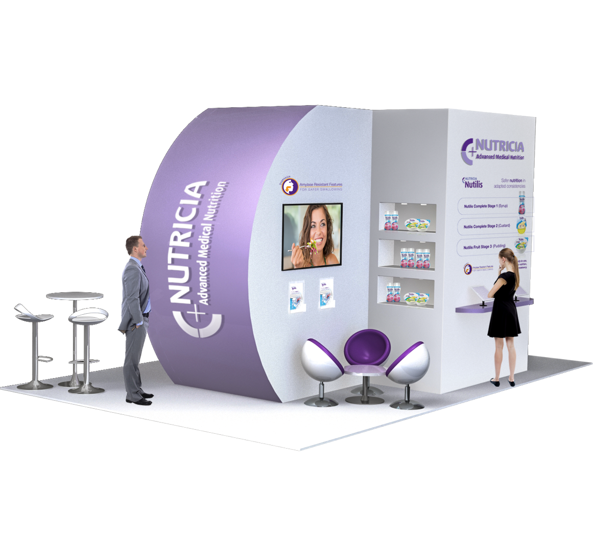 exhibition design, custom exhibition stands
