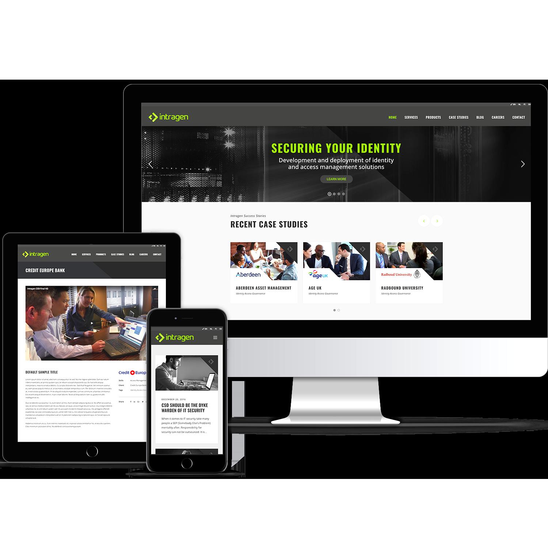 digital design, website design, website build