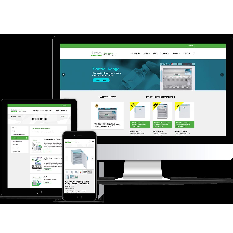 website design, digital design, website build