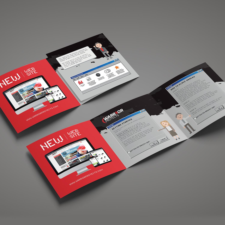 leaflet design, brochure design