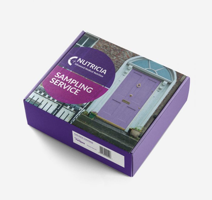 sample box, product packaging