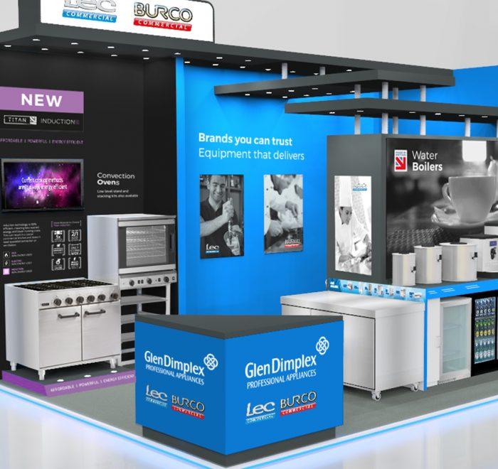 custom exhibition stands, exhibition design