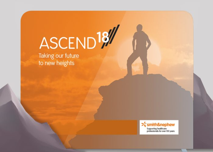 Smith & Nephew Ascend Project, exhibition design, portable exhibition display