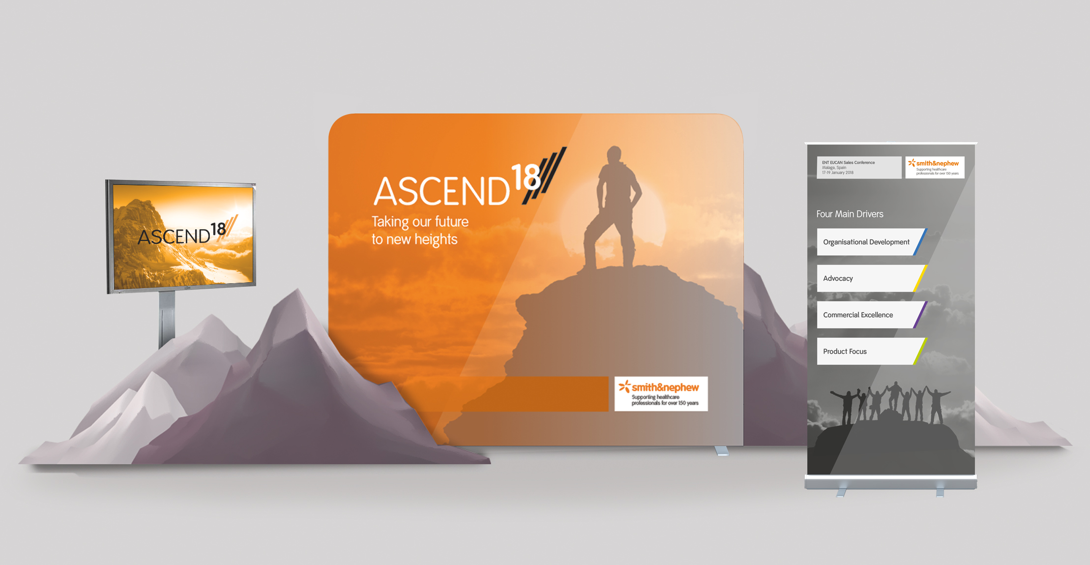 Smith & Nephew Ascend Project, exhibition design
