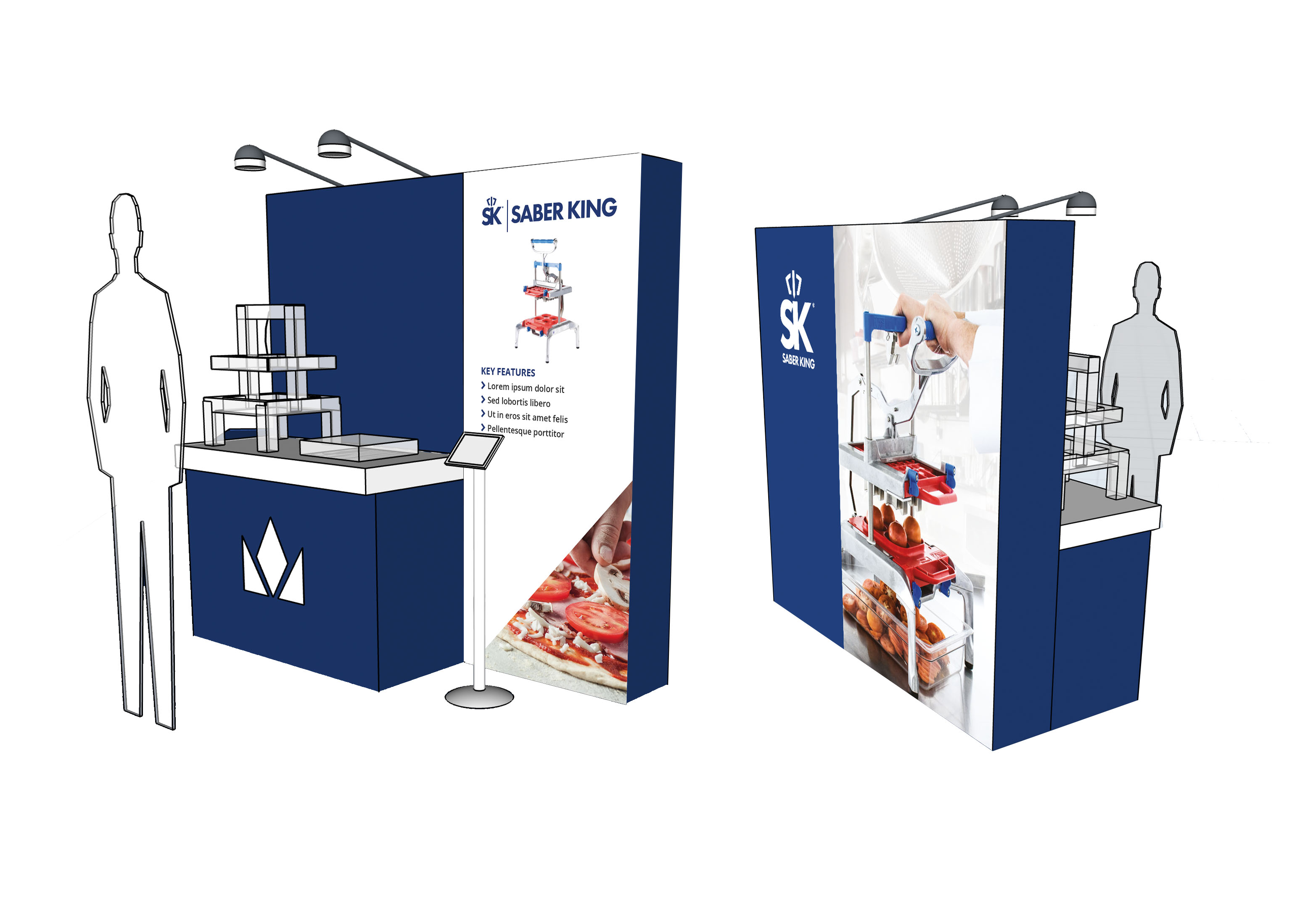 creative graphic design agency, exhibition stand design