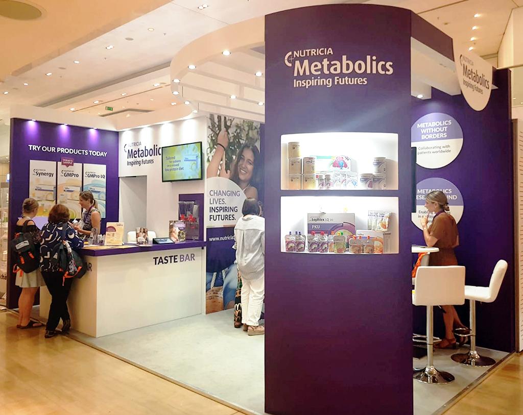 Custom Exhibition Stand Design : Partnership design exhibition stand custom