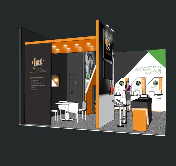 exhibition stand design, custom exhibition stand design, modular exhibition stand design